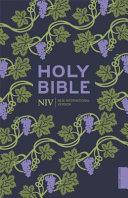 NIV Holy Bible  Hodder Classics