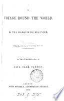 A voyage round the world   Vol  3 tr  by A  and H  Stephenson