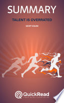Talent Is Overrated by Geoff Colvin (Summary)