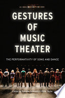 Gestures of Music Theater Book PDF