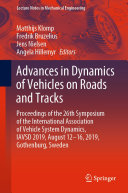 Pdf Advances in Dynamics of Vehicles on Roads and Tracks
