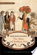 The Alien And Sedition Acts Of 1798 Book