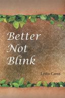 Better Not Blink ebook