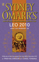 Sydney Omarr s Day By Day Astrological Guide for the Year 2010  Leo