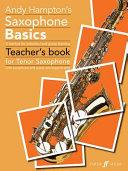 Andy Hampton's saxophone basics