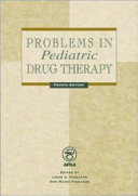 Problems In Pediatric Drug Therapy Book PDF