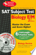 The Best Test Preparation for the SAT, Subject Test  : With CD-ROM for Windows. Biology E/M