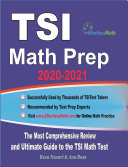 TSI Math Prep 2020 2021