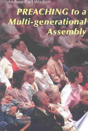 Preaching to a Multi generational Assembly Book