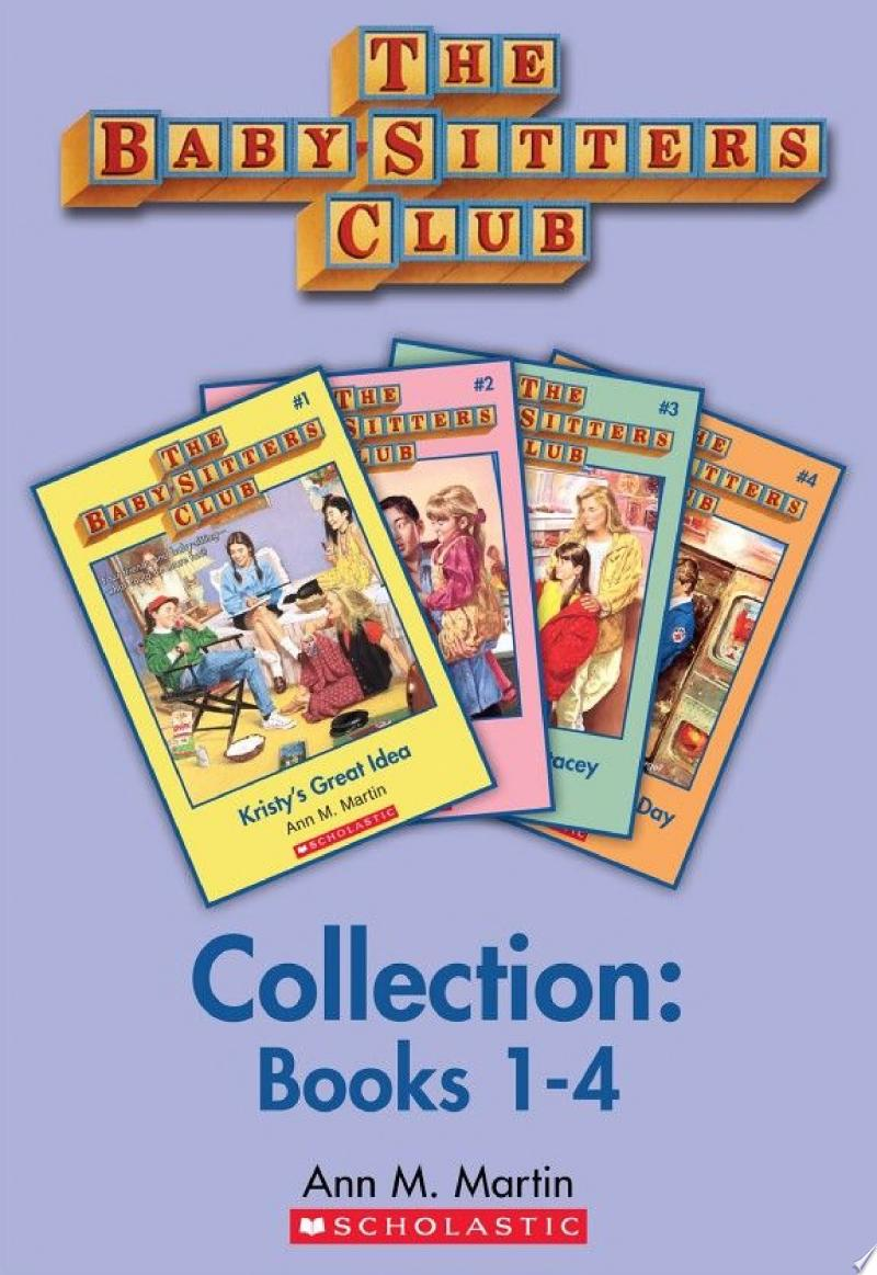 Babysitter's Club Collection banner backdrop