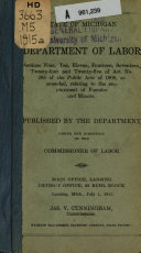 Department of Labor Book