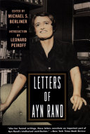 Pdf Letters of Ayn Rand Telecharger