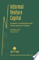 Informal Venture Capital