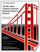 The 2008 Report Bay Area Chinese Churches Research Project Phase Ii