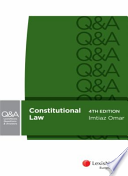 LexisNexis Questions and Answers - Constitutional Law, 4th Edition