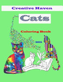 Creative Haven Cats Coloring Book 2021