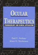 Ocular Therapeutics Book