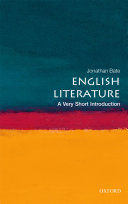 English Literature: A Very Short Introduction Pdf/ePub eBook