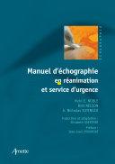 Manuel d'échographie en réanimation et service d'urgence