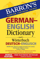 Barron s German English Dictionary