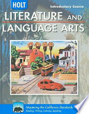 California Holt Literature and Language Arts, Introductory Course