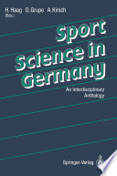 Sport Science in Germany