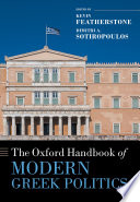 The Oxford Handbook of Modern Greek Politics