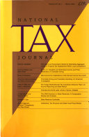 National Tax Journal