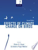 Effects of Climate Change on Birds Book