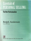 Essentials of Personal Selling