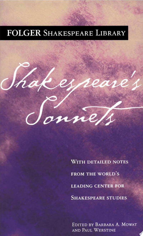 Shakespeare's Sonnets banner backdrop