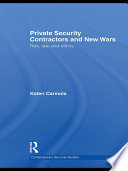 Private Security Contractors and New Wars