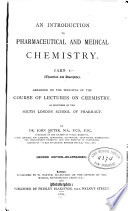 (An) Introduction to Pharmaceutical & Medical Chemistry ...