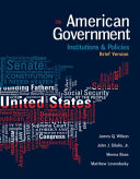 American Government: Institutions and Policies, Brief Version Pdf/ePub eBook