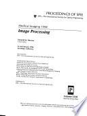 Medical Imaging  : Image processing , Volume 3338,Partes 1-2