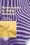 Biomechanics in Animal Behaviour
