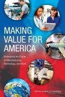 Making Value for America