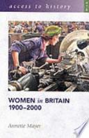 Women in Britain, 1900-2000