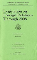 Legislation on Foreign Relations Through 2008  V  1 A  March 2010 Book