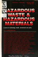 Hazardous Waste & Hazardous Materials