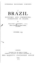 Brazil, Economic and Commercial Conditions in Brazil. October 1953