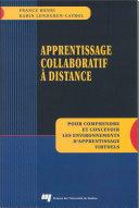 Apprentissage collaboratif à distance ebook
