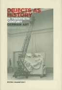 Objects as History in Twentieth-century German Art ebook