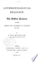 Anthropological religion
