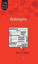 Antonyms  Little Red Book