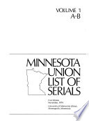 Minnesota Union List of Serials