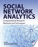 Social Network Analytics Book