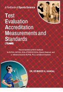 A Textbook of Sports Science : TEST, EVALUATION, ACCREDITATION, MEASUREMENTS And STANDARDS ( TEAMS ) [Pdf/ePub] eBook