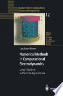 Numerical Methods In Computational Electrodynamics Book PDF