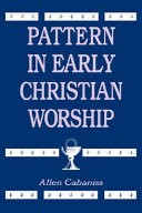 Pattern in Early Christian Worship [Pdf/ePub] eBook